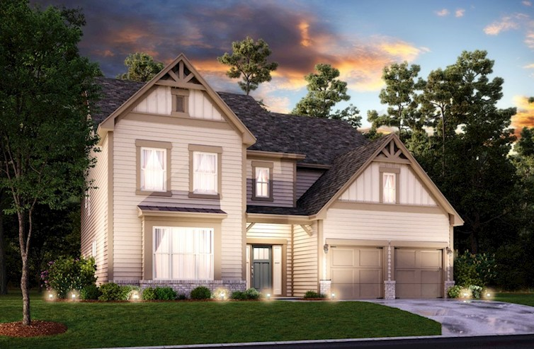 Laurelwood Elevation Farmhouse L