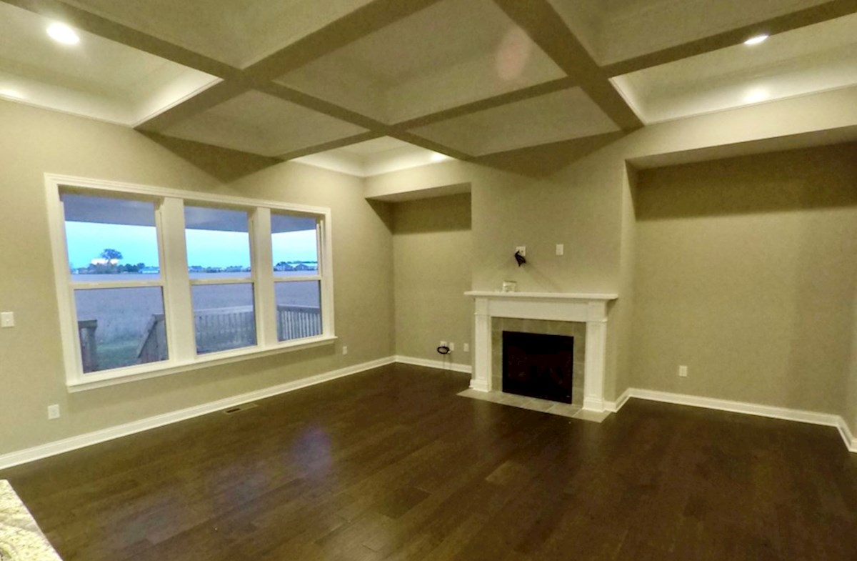 Capitol quick move-in Stunning great room with fireplace