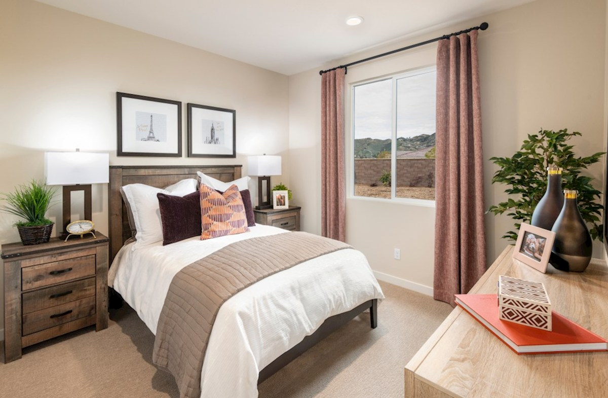 The Glen at Summerly Napa Spacious secondary bedrooms are ideal for guests