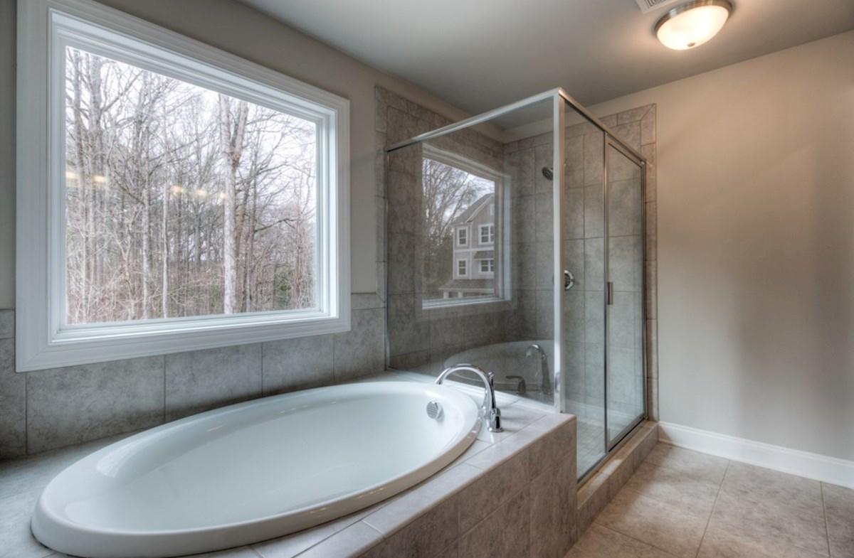 Highland Park Norwich Master Bathroom with soaker tub
