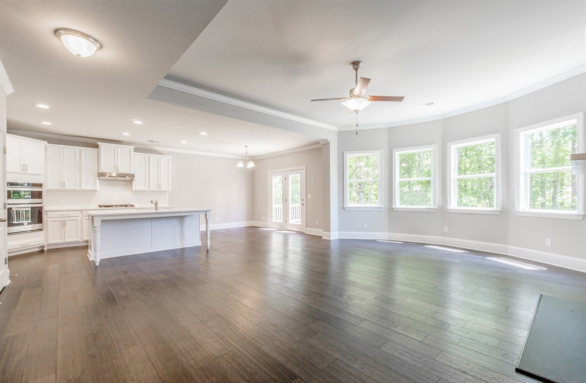 Laurelwood quick move-in Open Concept Family Room