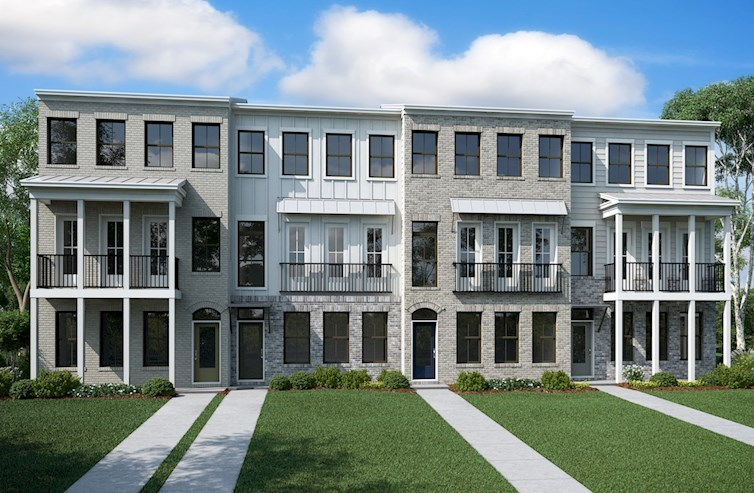 Morningside Townhome Building
