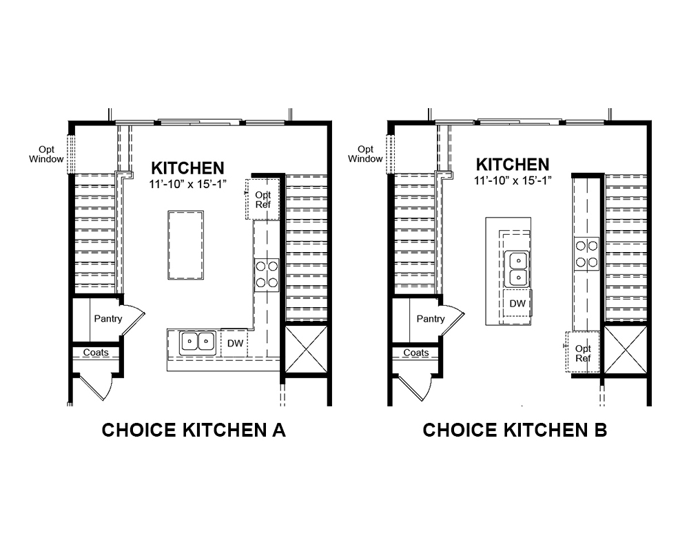 Choice options for Main Floor