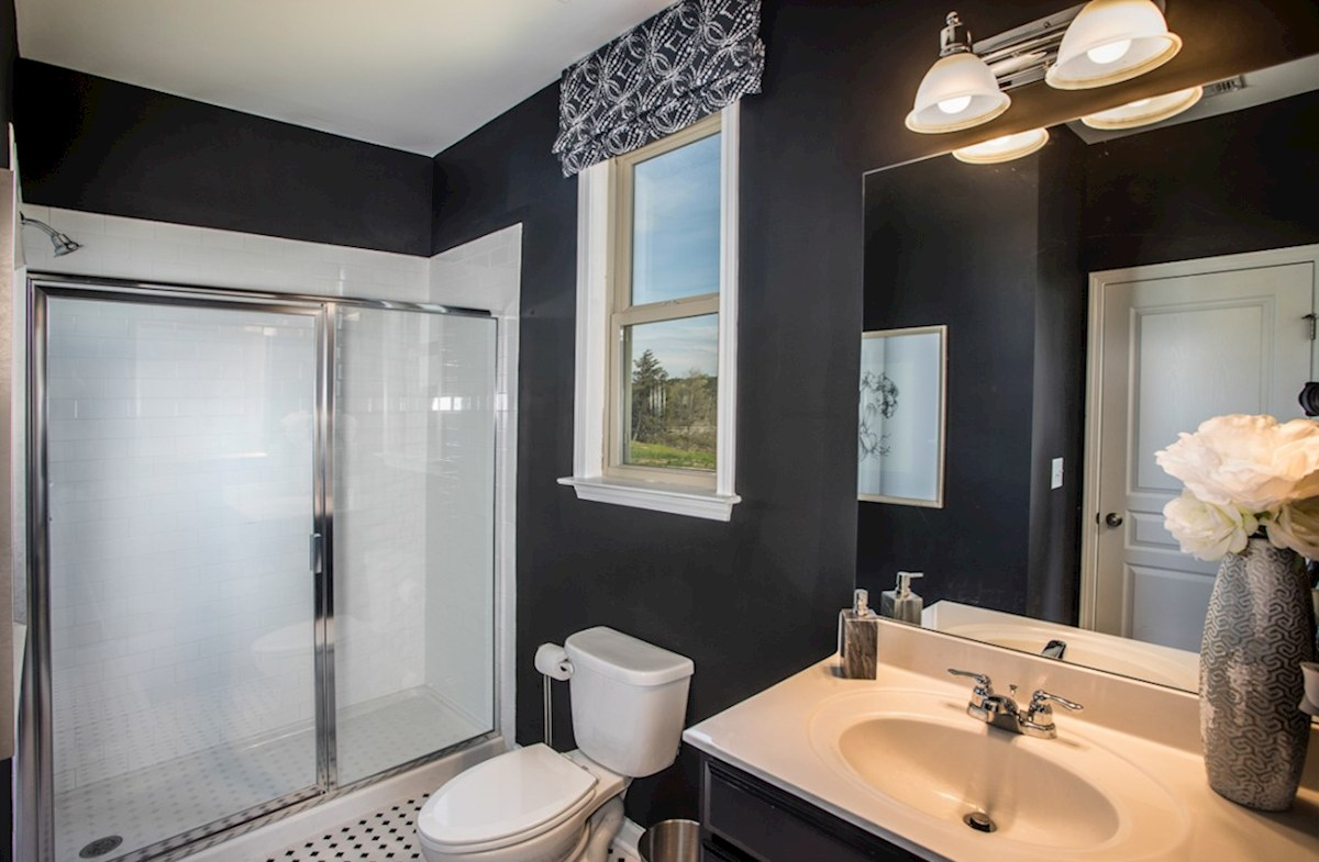 Bethesda Heights Laurel Secondary Bath with stall shower
