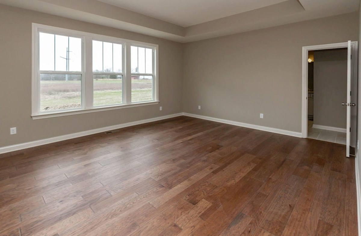 Kessler quick move-in Master bedroom on the main floor