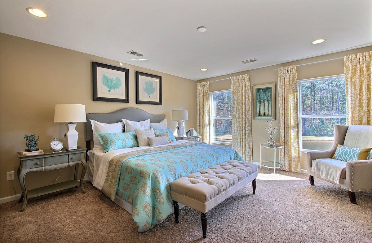 private master bedroom