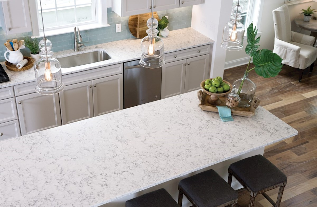 Bentley Park Dogwood huge kitchen island