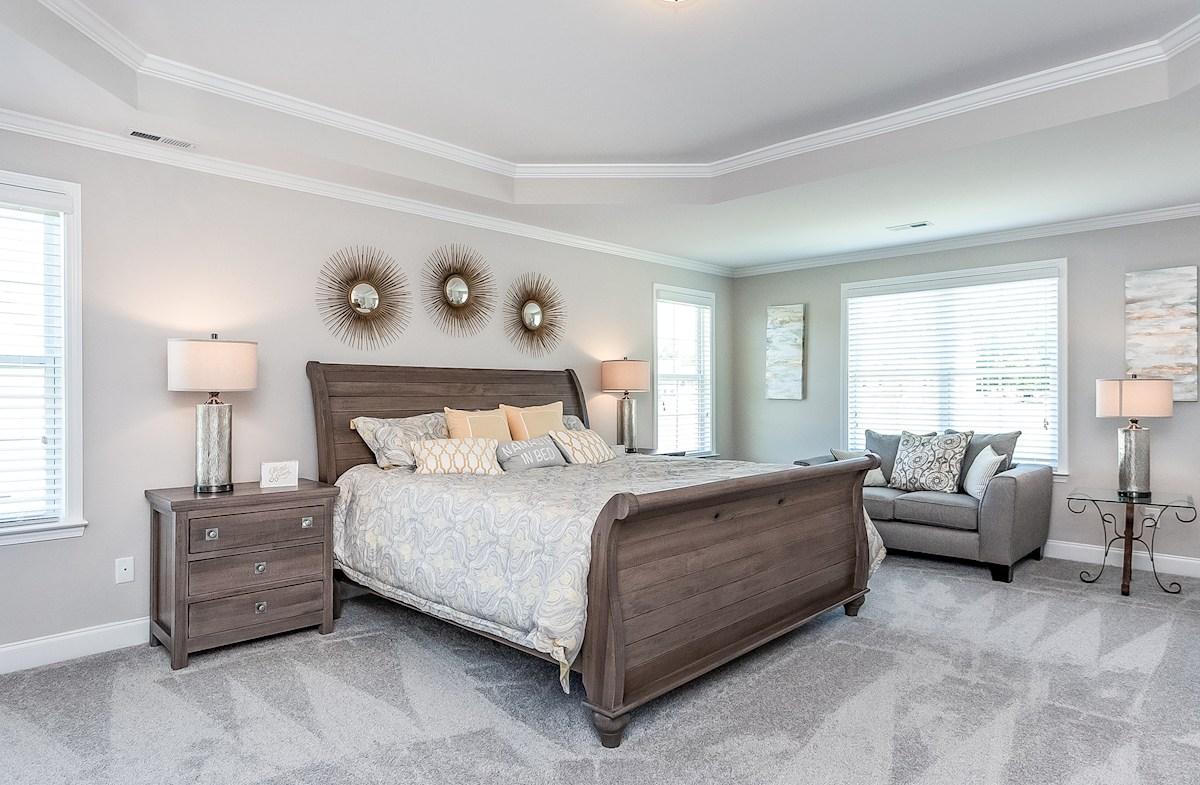 Pamlico master bedroom