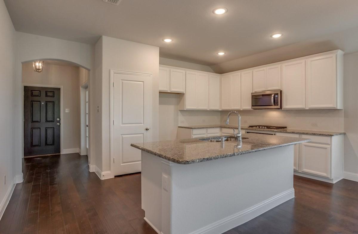Silverado quick move-in Silverado kitchen with spacious island