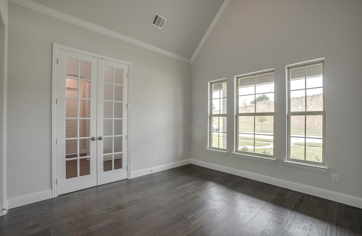 Brighton quick move-in private study with wood floors and French doors