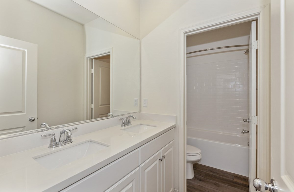 Liberty quick move-in Liberty secondary bathroom