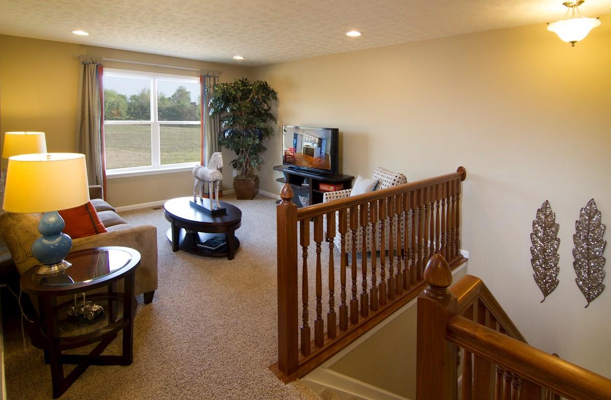 Shadow Creek Farms Juniper loft space offers more living area