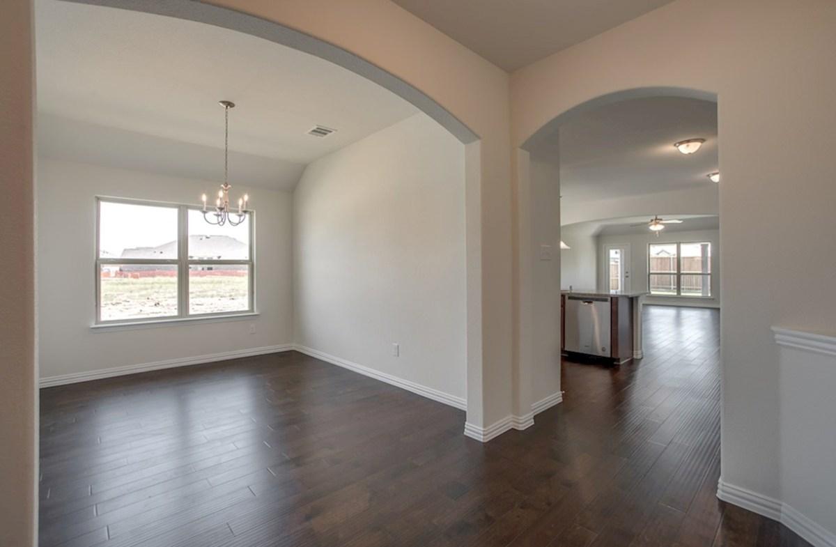 Silverado quick move-in Silverado formal dining room with natural light