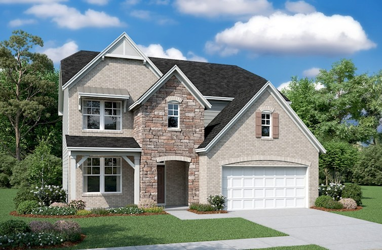 Concord Plan French Country L Exterior