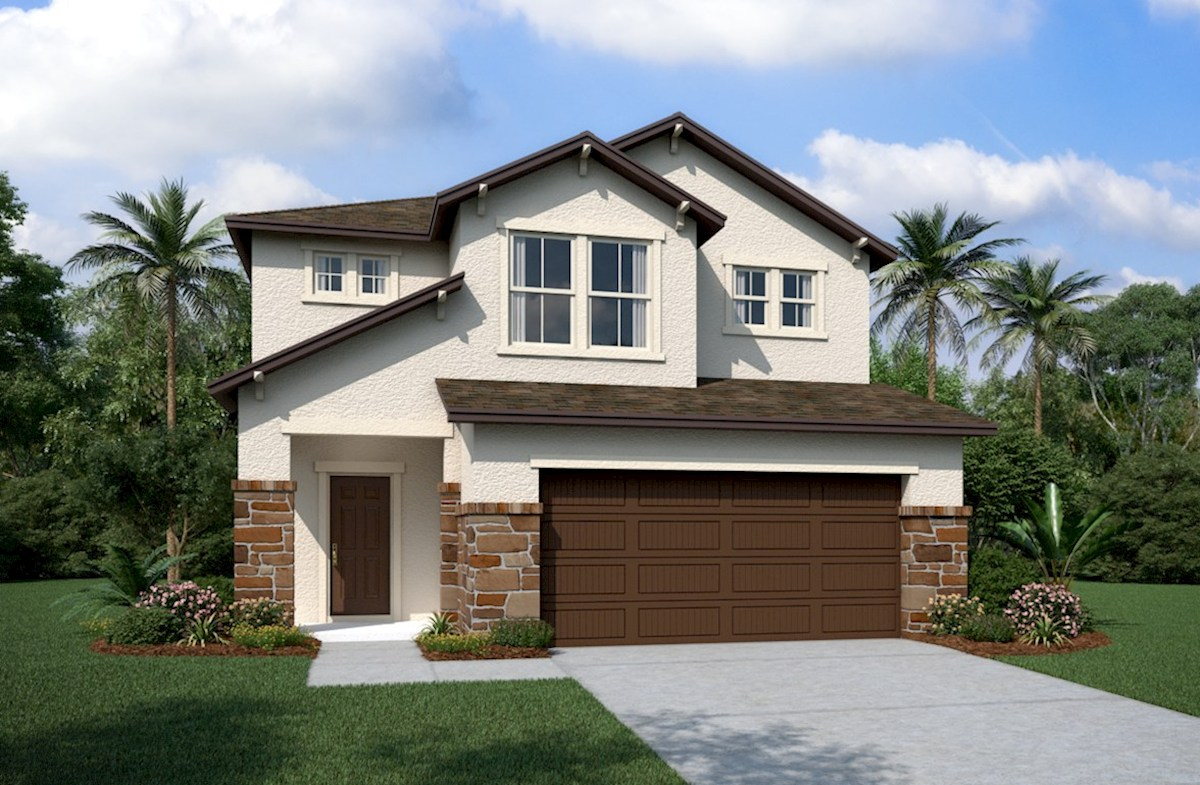 Brentwood Elevation Tuscan L