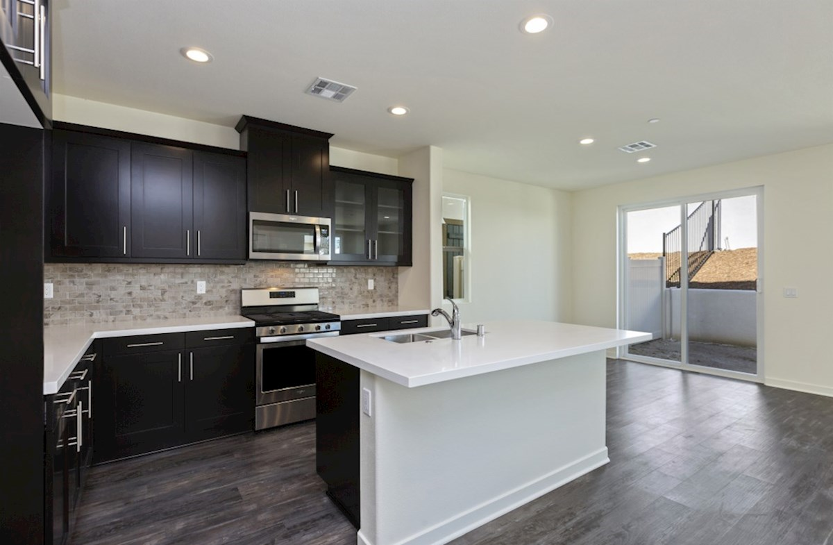 Suncup quick move-in Entertain guests while preparing gourmet meals in this open-concept kitchen and great room.