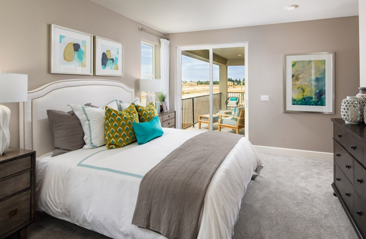 Sequoia Trails Residence 3 master bedroom