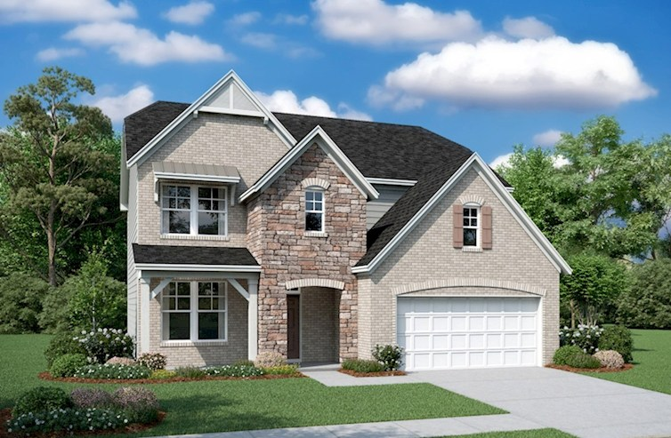 Concord Elevation French Country L