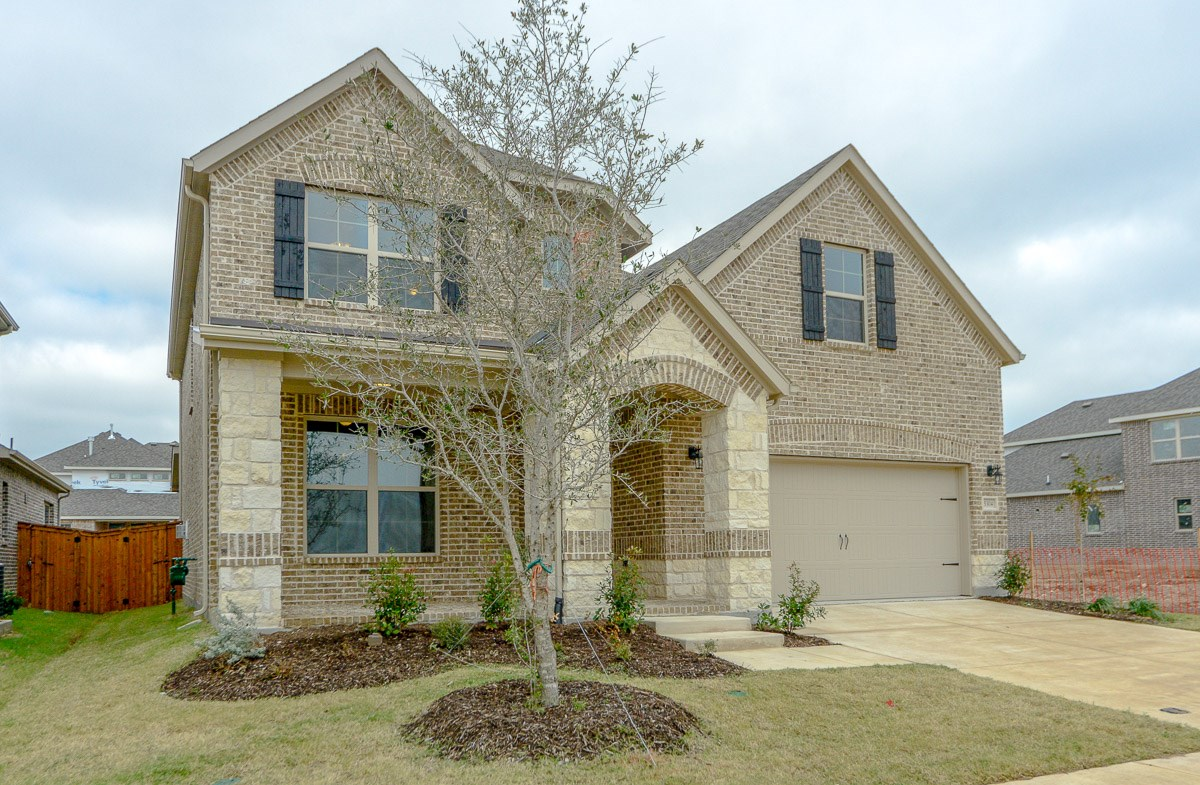 Brookhaven FHL quick move-in brick and stone exterior