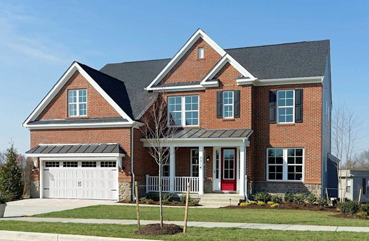 Brookview Elevation Traditional M quick move-in