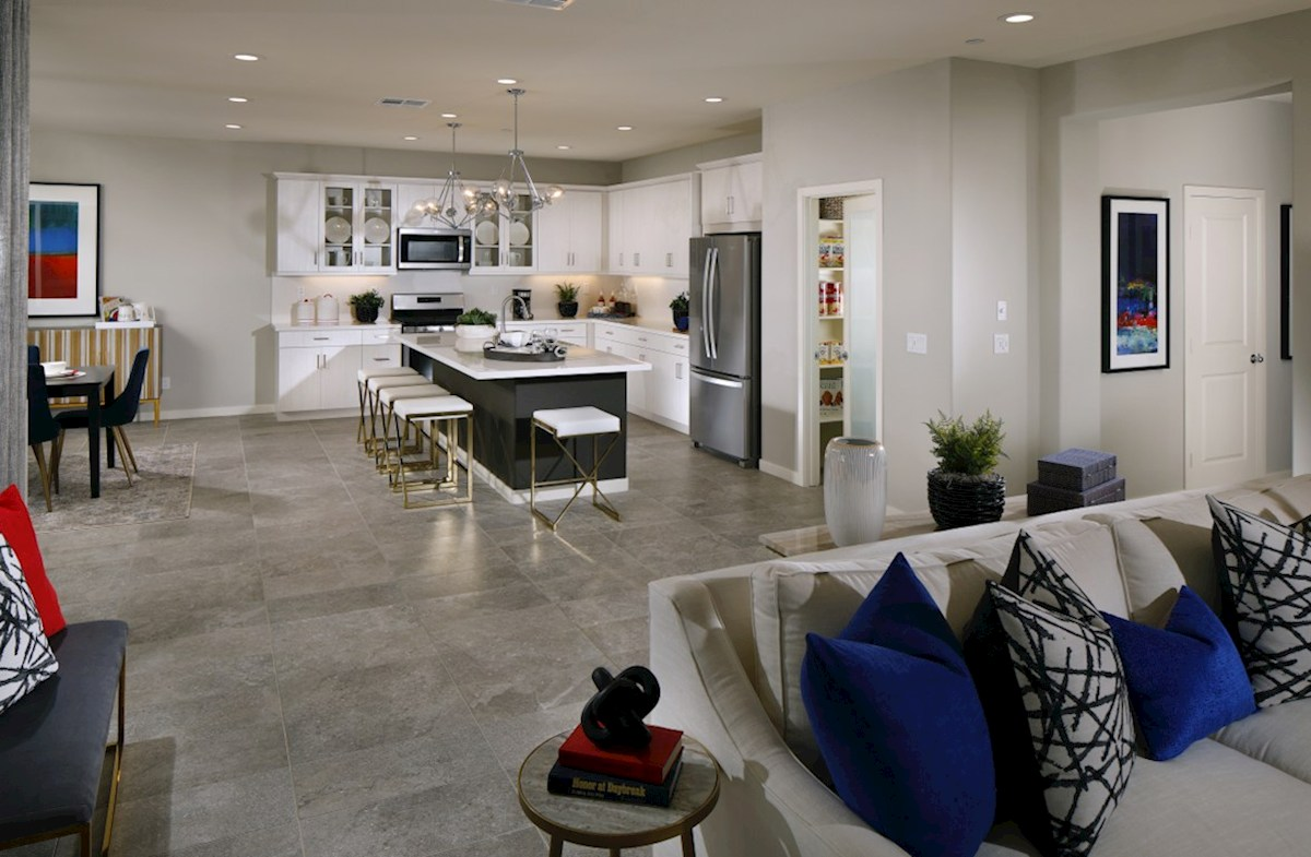 Barcelona Opal The living areas of the home are designed with your furtniture in mind.