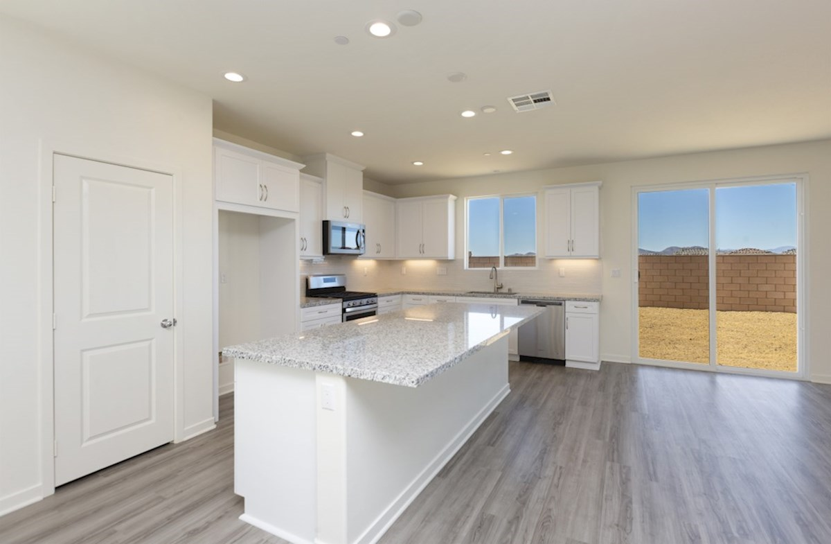 Piedmont quick move-in Entertain guests while preparing gourmet meals in this open-concept kitchen and great room
