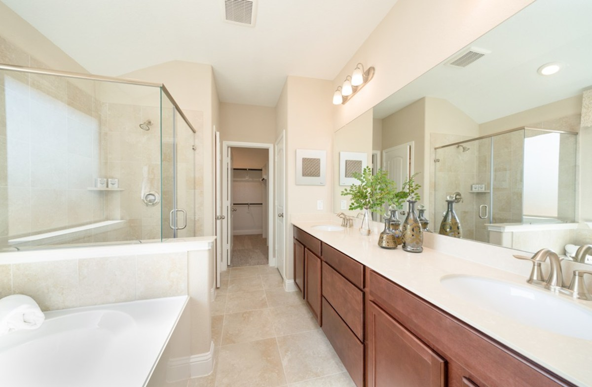 Amira  Maxwell master bath with separate tub and shower