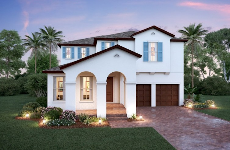 Luciana Elevation Spanish Colonial N