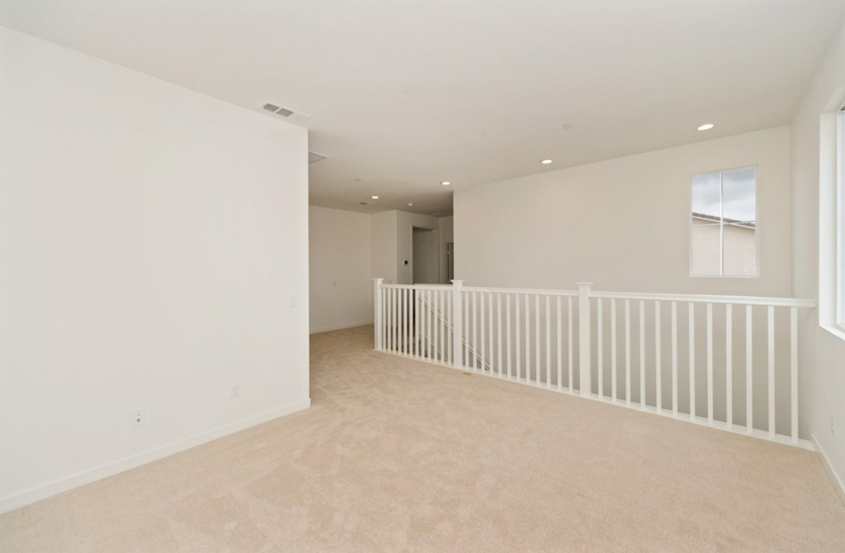 Sonoma quick move-in The loft provides additional space needed for family entertainment