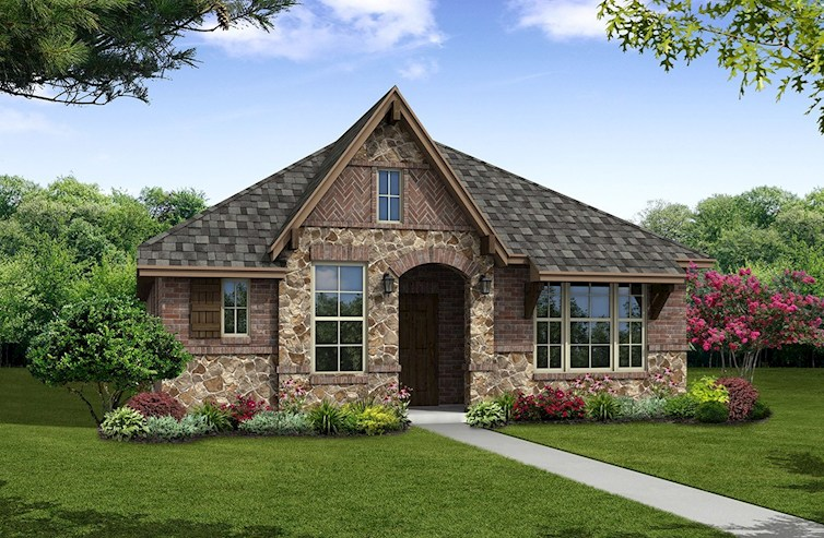 Wimberley Elevation English Revival A