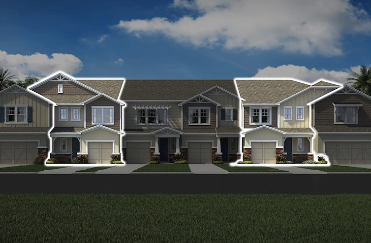 Champlain Elevation French Country L