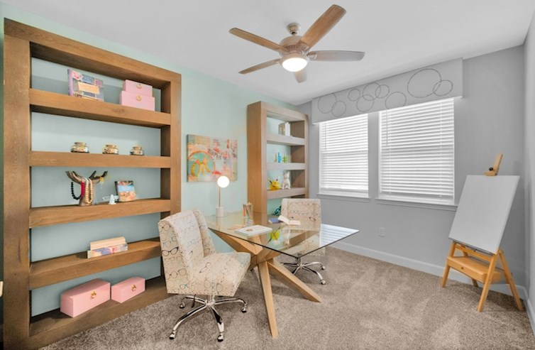 Sherwood study with natural lighting