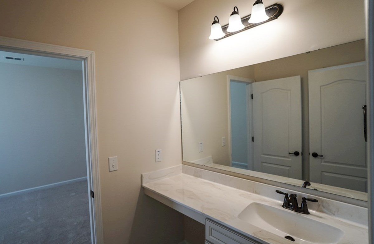 Valleydale quick move-in secondary bathroom is spacious