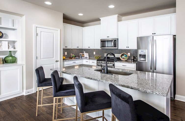 Alexander quick move-in kitchen with center island