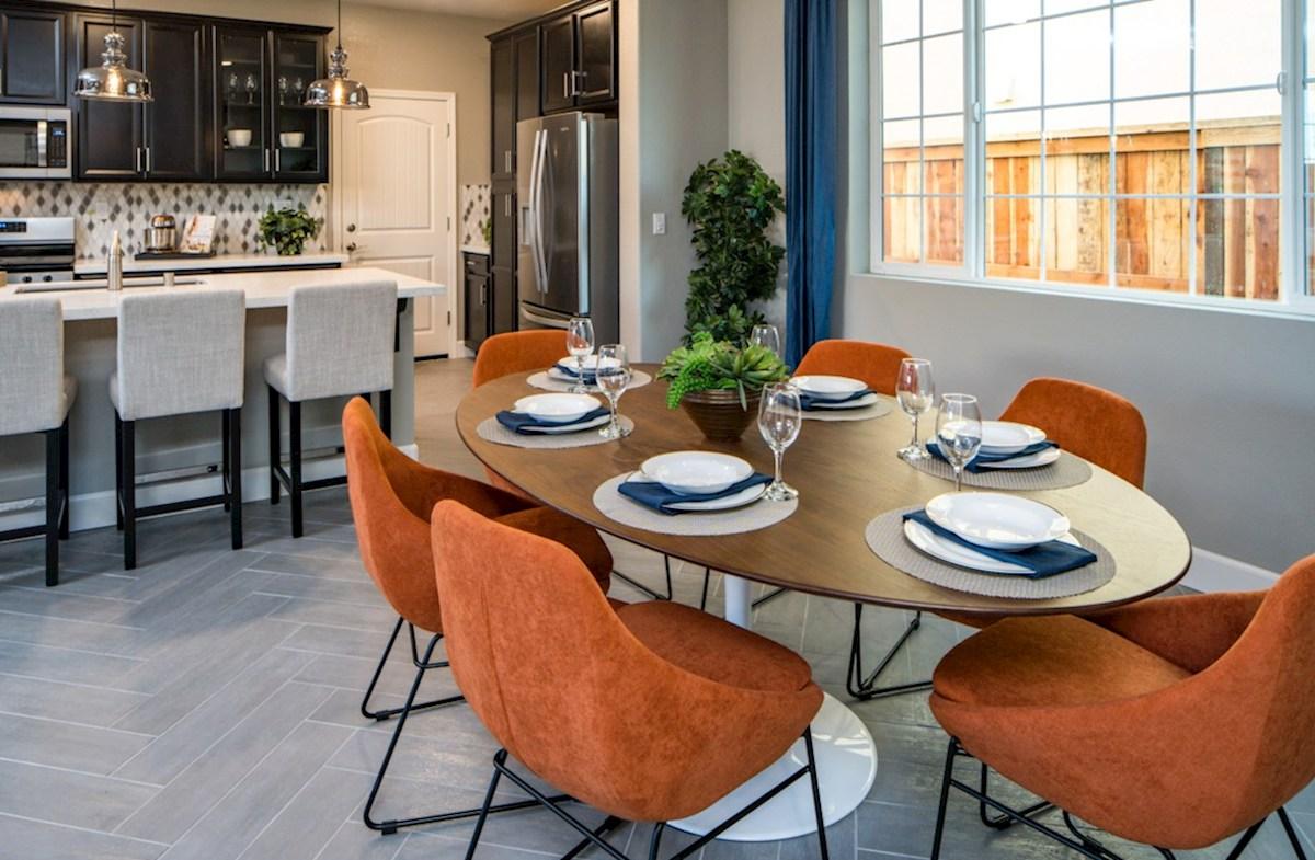 Natomas Field Residence 1 dining room