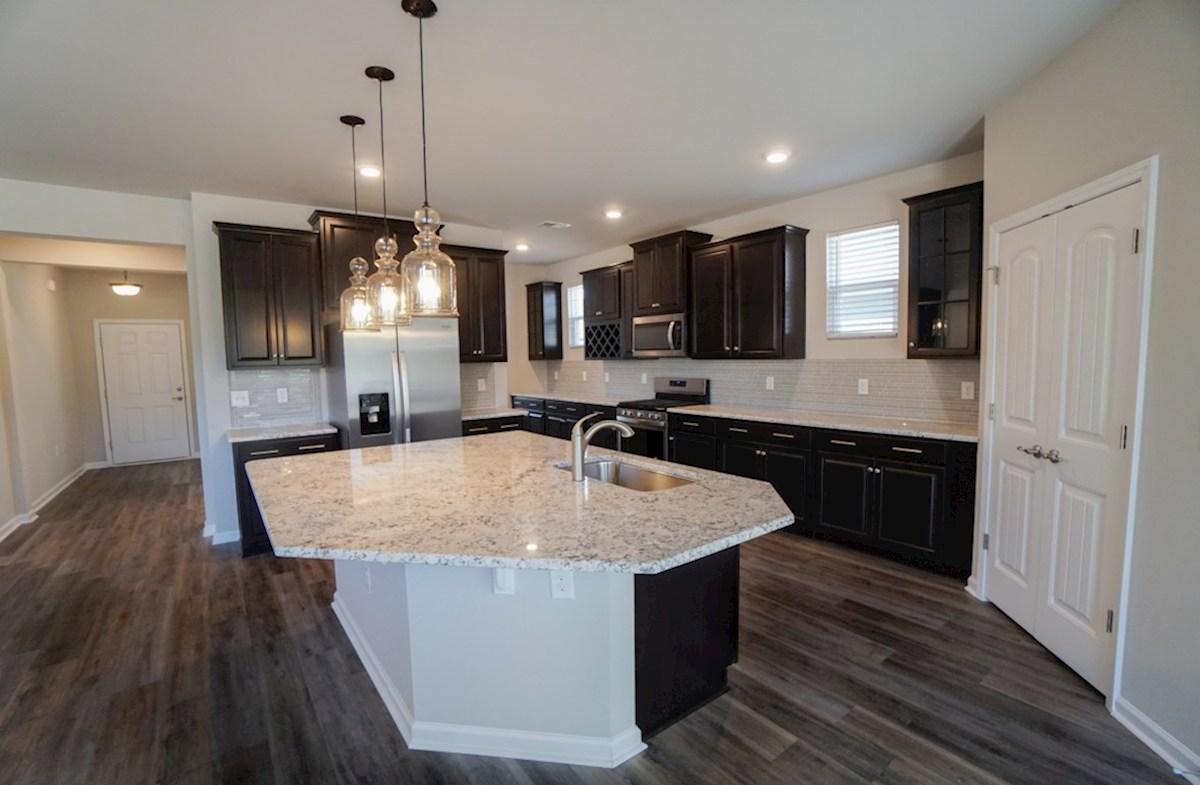 Edisto quick move-in kitchen features plenty of storage space