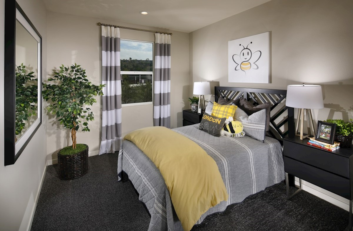 Mission Lane Deer Grass Spacious secondary bedrooms are ideal for guests