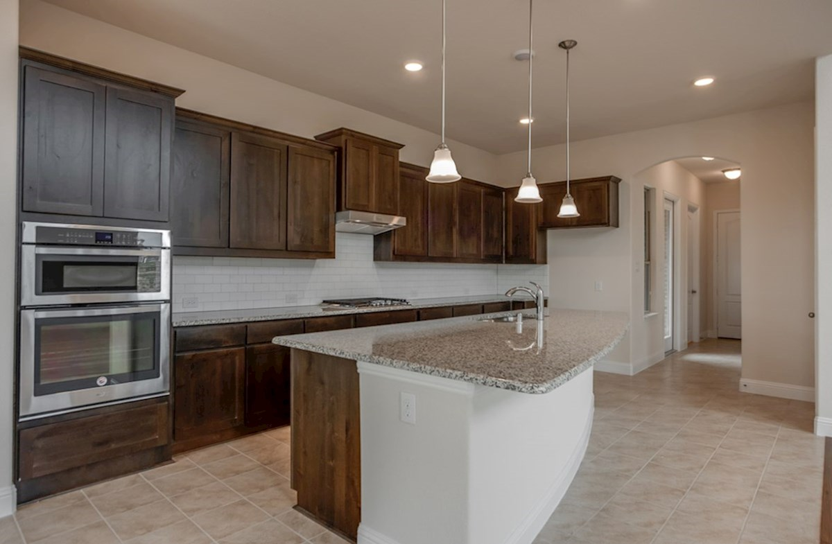 Brazos quick move-in spacious kitchen with large island