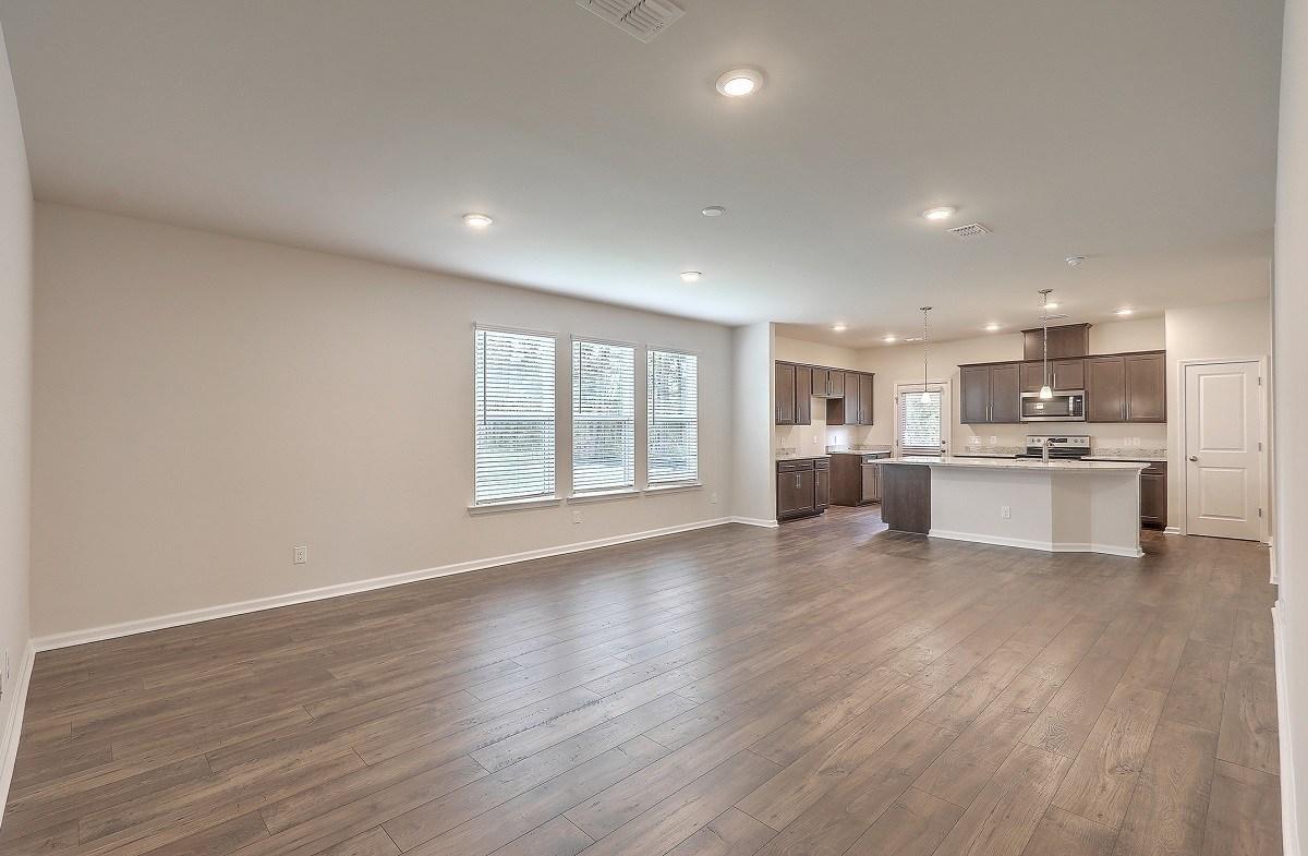 Franklin quick move-in open-concept floorplan