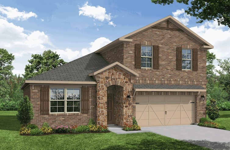 Berkshire Elevation French Country A quick move-in