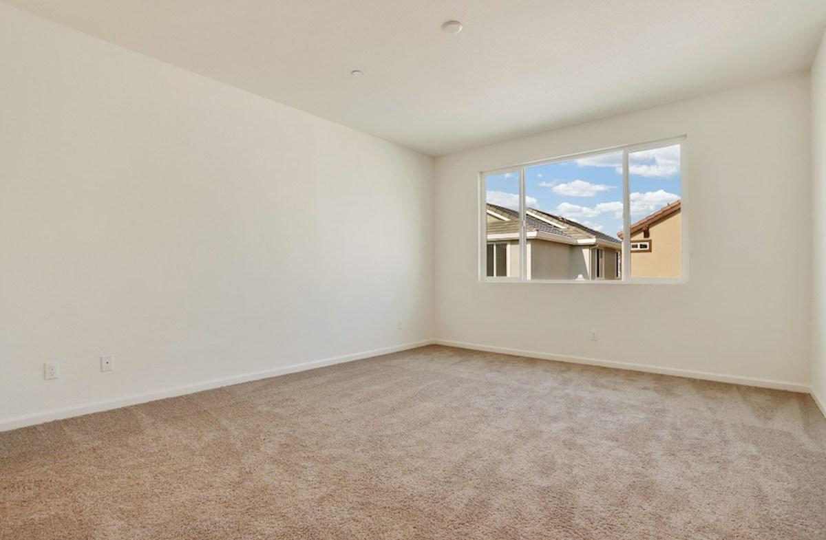 Weston quick move-in master bedroom