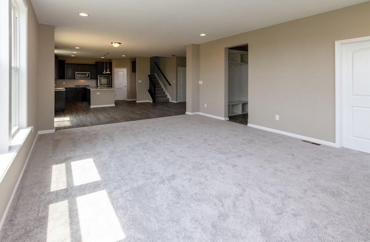 Porter quick move-in Open floor plan