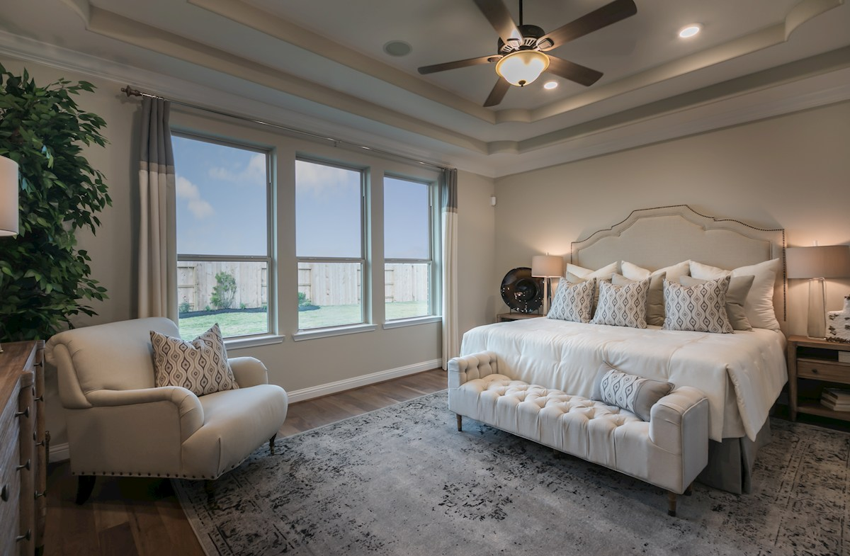 Young Ranch Aldrin spacious master bedroom