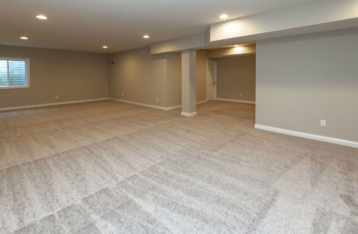 Keystone quick move-in Finished basement for additional storage and living space