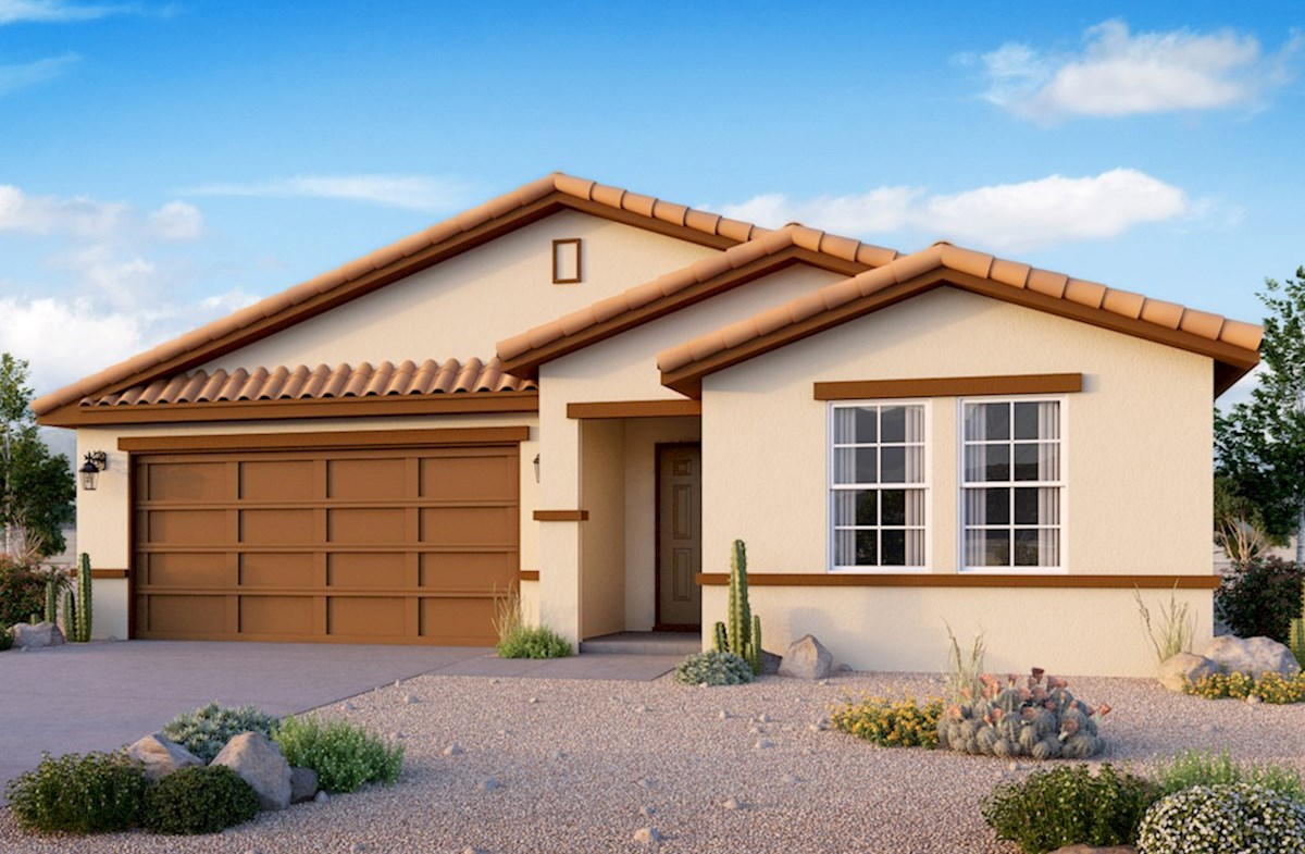 Willow Elevation Tuscan A