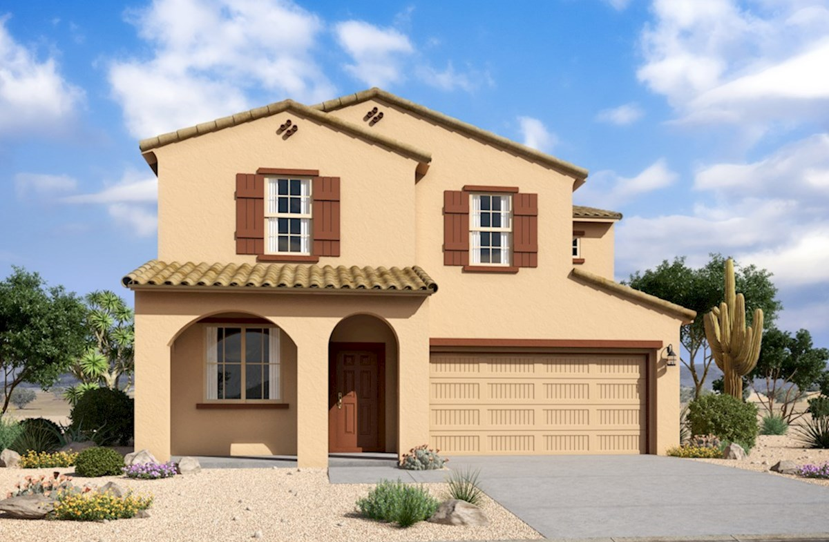 Merlot Elevation Spanish Colonial L