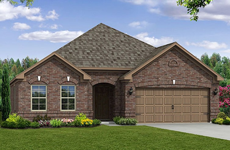 Millbrook Elevation Traditional B
