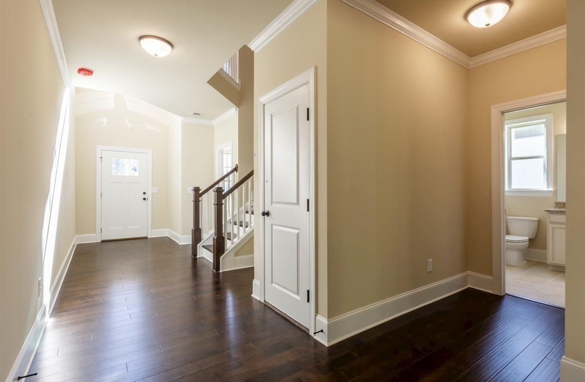 Stockton quick move-in Foyer and powder room