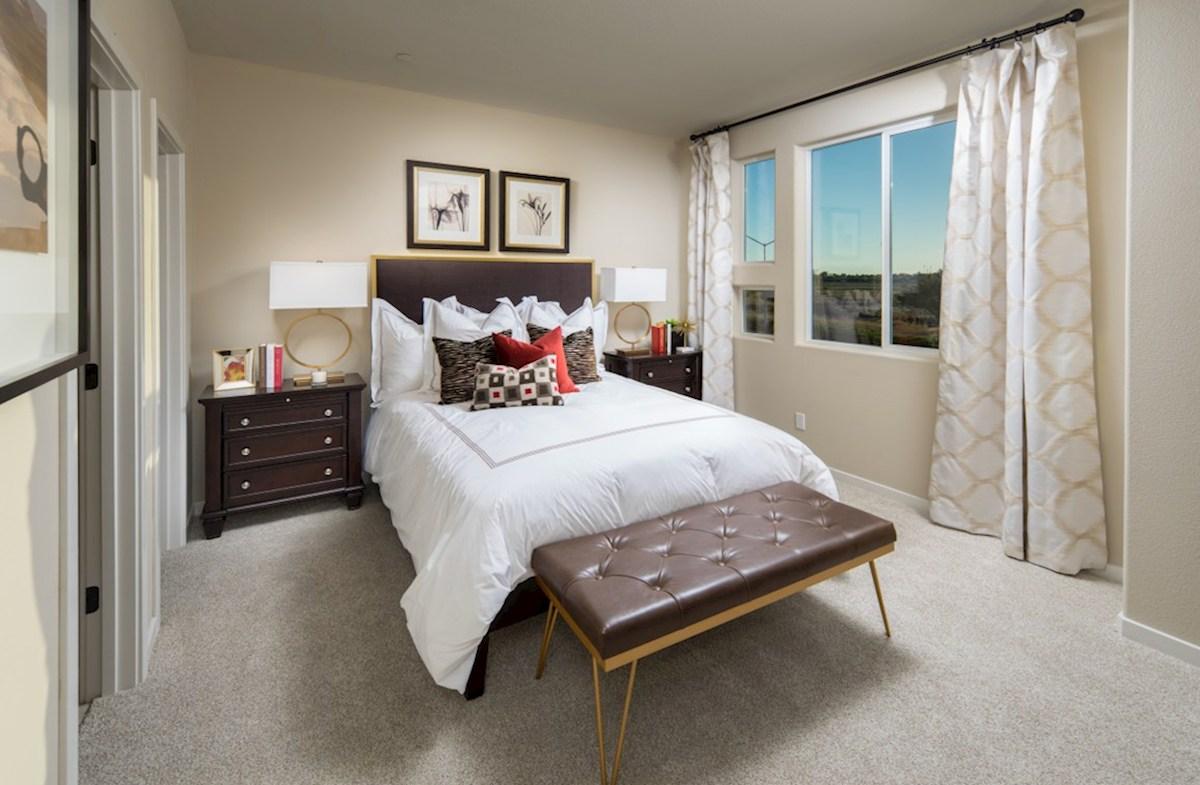 Natomas Field Residence 1 elegant master bedroom