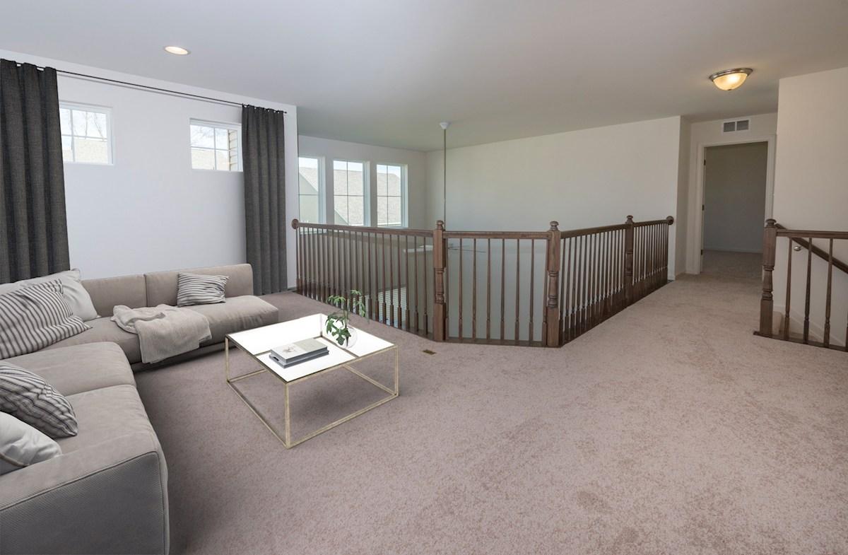 Newport quick move-in Second level loft
